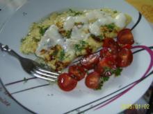 Eier: Kräuter-Omelett mit Ziegenkäse - Rezept