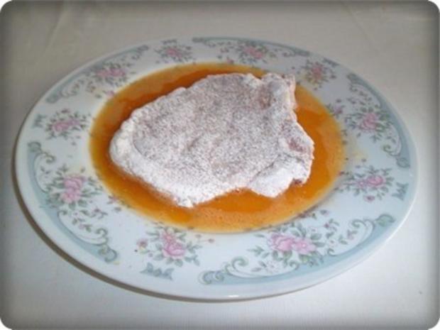 Zwiebel – Kartoffelscheiben mit Schweinekoteletts. - Rezept - Bild Nr. 7