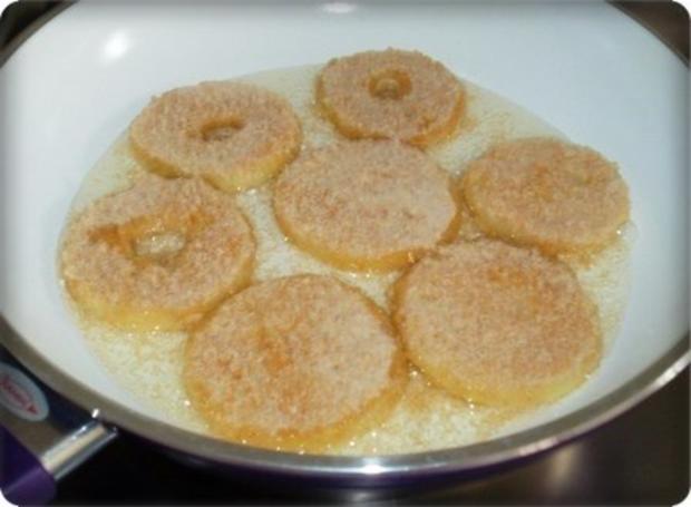 Zwiebel – Kartoffelscheiben mit Schweinekoteletts. - Rezept - Bild Nr. 19