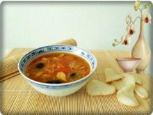 Indonesische Glasnudelsuppe mit Hähnchenfleisch - Rezept