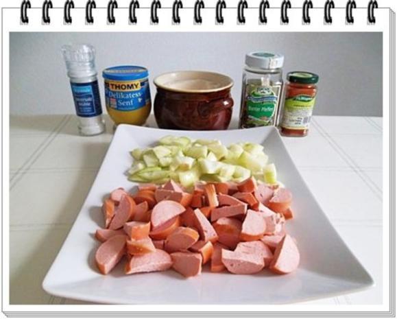 Pikantes Wurstgulasch mit Kartoffeln - Rezept - Bild Nr. 6