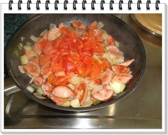 Pikantes Wurstgulasch mit Kartoffeln - Rezept - Bild Nr. 10