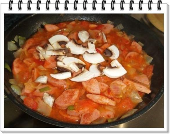 Pikantes Wurstgulasch mit Kartoffeln - Rezept - Bild Nr. 11