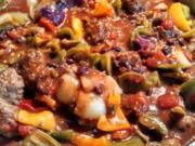 Tex-Mex  Peppers Meatballs  /  Albondigas Mexican - Rezept