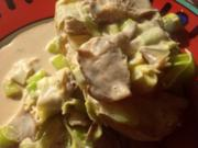 Austernpilze in Sahnesoße - Rezept