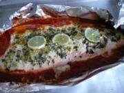 Lachs mit Meerrettich und Kräuter - Rezept