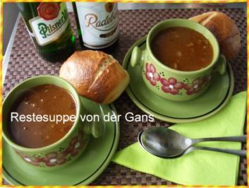Ganserlsuppe - Rezept