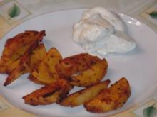 Kartoffel Wedges (Gemüse) aus dem Ofen - Rezept