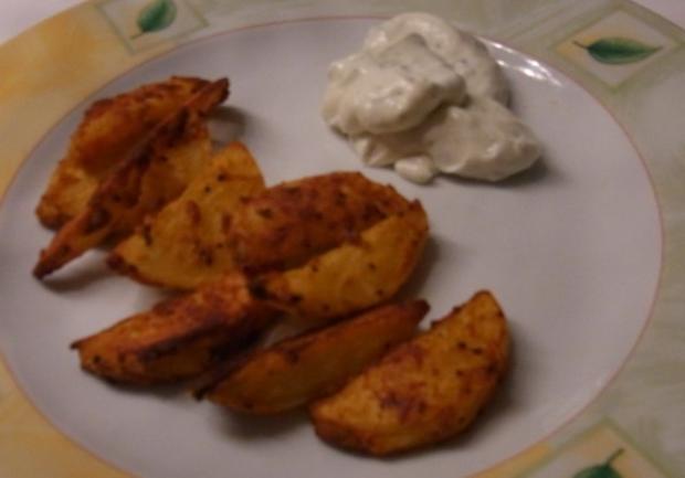 Kartoffel Wedges (Gemüse) aus dem Ofen - Rezept - Bild Nr. 6