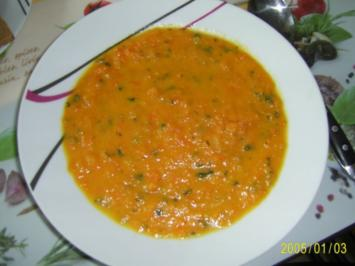 Suppen & Eintöpfe: Möhrencremesuppe - Rezept