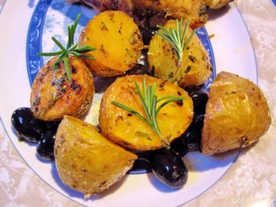 Spanische Back-Kartoffeln - Rezept