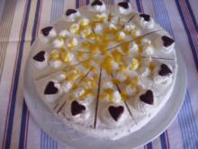 Nuss-Preiselbeeren Torte - Rezept