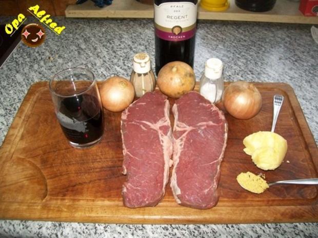 Fleisch:Rinderfilet mit Rotweinzwiebeln - Rezept - Bild Nr. 2