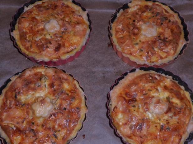 Vorspeise/Zwischengericht: Blätterteig-Tartelettes mit Camembert, Schinken & Apfel - Rezept - Bild Nr. 12