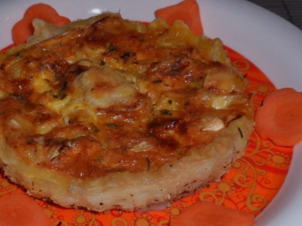 Vorspeise/Zwischengericht: Blätterteig-Tartelettes mit Camembert, Schinken & Apfel - Rezept - Bild Nr. 13