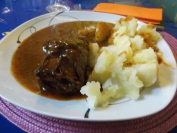 Fleisch: Rinderrouladen wie sie meine Mutter machte! - Rezept