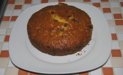 Mini Früchte-Frühstückskuchen - Rezept