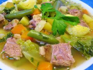 Rindfleisch-Gemüsetopf - Rezept
