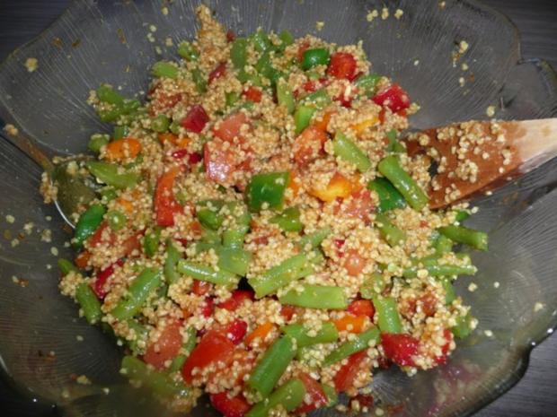 Gefüllte Paprika mit Cous- Cous - Rezept - Bild Nr. 5
