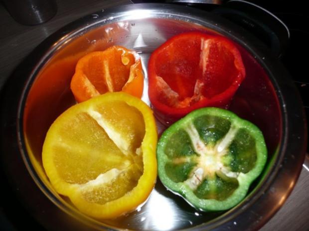 Gefüllte Paprika mit Cous- Cous - Rezept - Bild Nr. 3