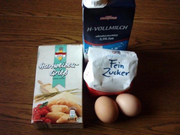 Grießkuchen aus Niederbayern - Rezept - Bild Nr. 2