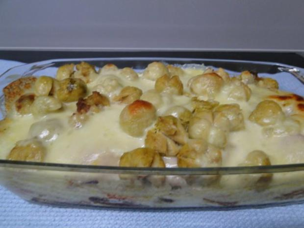 Rosenkohl überbacken mit 2erlei Käse, Helau und alaaf, das ist eine gute Grundlage - Rezept - Bild Nr. 13