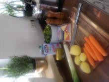 Lauch-Creme-Suppe - Rezept