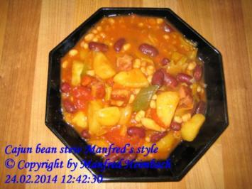 Eintopf – Cajun bean stew Manfred's style - Rezept