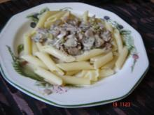 Pasta mit Schinkensoße - Rezept