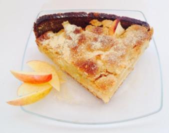 Malz-Apfelkuchen - Rezept