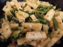 Sellerie - Bohnen - Salat - Rezept
