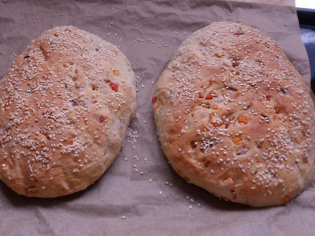 Brot backen: Rosmarin-Paprika-Brot - Rezept - Bild Nr. 13