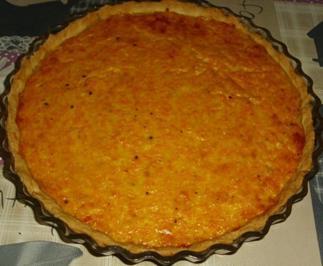 Rezept: Käse Möhren Quiche