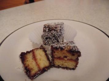 Kuchenpraline mit Kokosflocken - Rezept