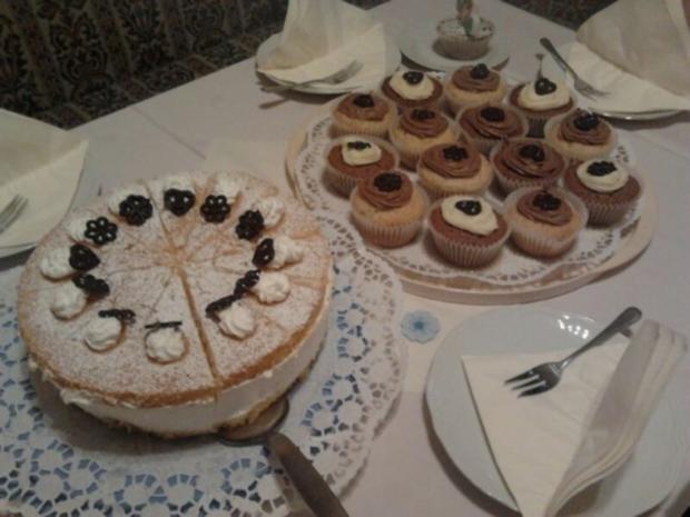 Muffins mit Cup-Cake Creme - Rezept - Bild Nr. 3