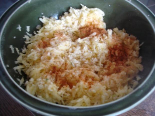 Kartoffelrösti mit Mozzarella und Tomatensalat - Rezept - Bild Nr. 6