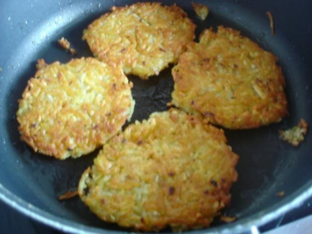 Kartoffelrösti mit Mozzarella und Tomatensalat - Rezept - Bild Nr. 9