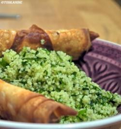 Tabouleh mit Sigara Börek - Rezept