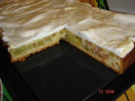 Heimi`s leckeren Rhabarberkuchen - Rezept
