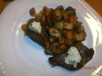 Kartoffel-Steak-Pfanne - Rezept