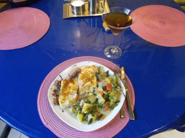 Fisch: Chakalaka-Zander mit gedämpften Gemüse - Rezept - kochbar.de