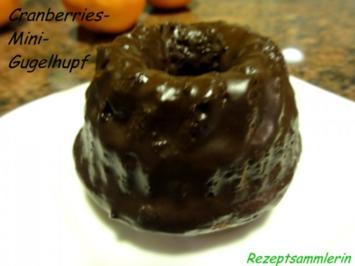 Muffin:  CRANBERRY - Mini - Gugelhupfe - Rezept