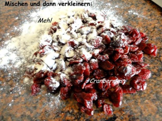 Muffin:  CRANBERRY - Mini - Gugelhupfe - Rezept - Bild Nr. 2
