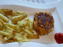 Sauerkrautfrikadellen mit Kräuternudeln - Rezept