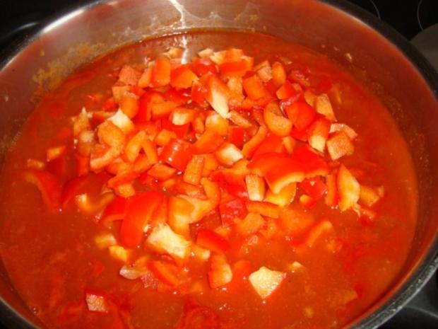 Paprika-Zwiebel-Gulasch - Rezept - Bild Nr. 7