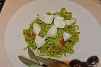 super leckere Avocado Pasta - Rezept