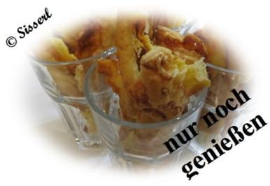 Rezept: Sisserl's  ~  Käsestängle