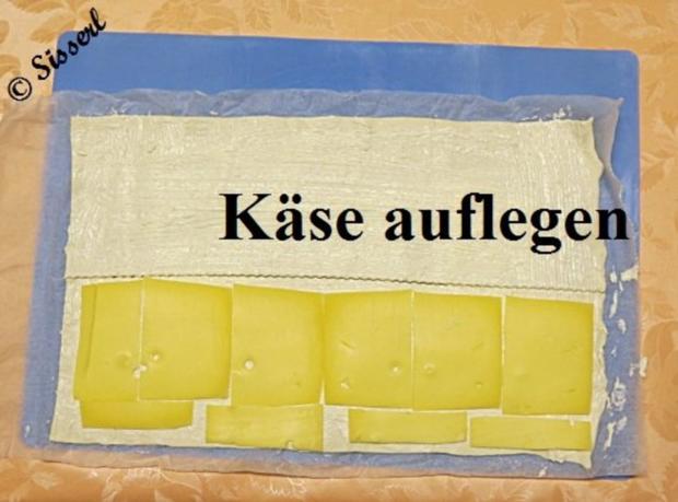 Sisserl's  ~  Käsestängle - Rezept - Bild Nr. 5