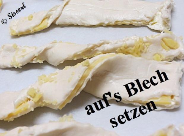 Sisserl's  ~  Käsestängle - Rezept - Bild Nr. 9