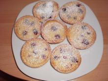 Kirsch-Tartelettes mit Marzipanguss - Rezept